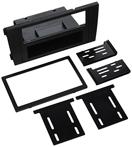 (SCOSCHE AU2380B 2000-03 Audi A6 Double DIN or DIN w/Pocket Install Dash Kit)