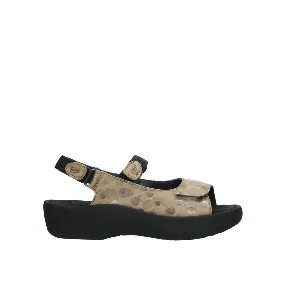 Wolky Womens 3204 Jewel Leather Sandals 36 EU|12390 Beige Nubuck