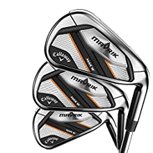 Callaway Golf 2020 Women's Mavrik Max Iron Set (Right Hand, Graphite, Women's, 6 Iron - PW, AW, SW)
