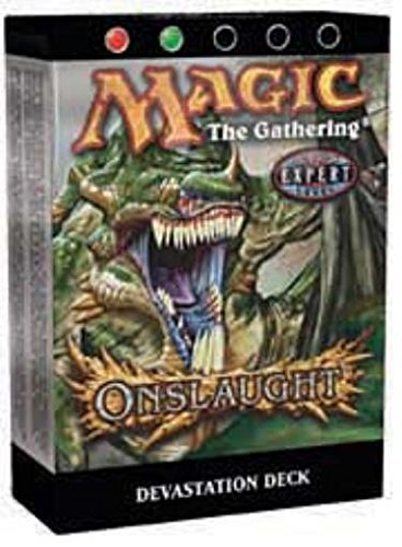 (Magic the Gathering MTG Onslaught Devastation Theme Deck)