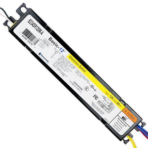 Universal Lighting Technologies B234SR120M-A000I Electronic Ballast, Fluorescent, T12, 2-Lamp, 120V Lighting Fluorescent Lamp