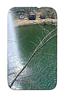 Hot GEnRwZU2951cHpWZ Waterfall In A Crater Lake Tpu Case Cover Series Compatible With Galaxy S3