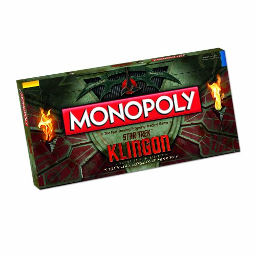 Klingon Monopoly Collector's Edition