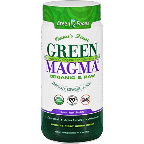 Juice Magma Powder Barley Green - Green Foods Dr Hagiwara Green Magma Barley Grass Juice Powder - 5.3 oz