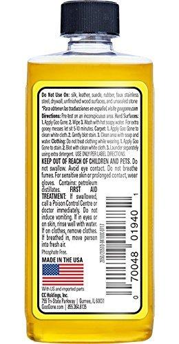 Goo Gone Remover Cleaner Citrus Scent Bottle 2 Oz (Bundle of 2)