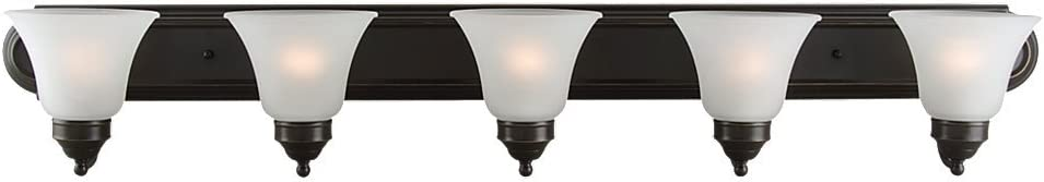 Sea Gull Lighting Linwood 44239-782 Five Light Wall Bath
