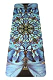 DESTINY // Blue Butterfly Mandala Yoga Mat