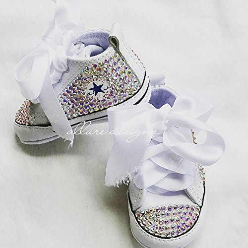 039986ea63dad Amazon.com: Swarovski baby bling shoes, Converse baby shoes, baby ...