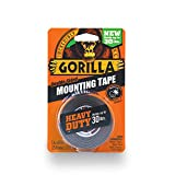 Gorilla 6055001 Heavy Duty Mounting Tape, Double-Sided, 1