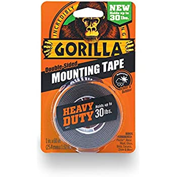 Amazoncom Gorilla Heavy Duty Double Sided Mounting Tape 1 Inch X