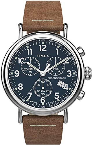 TW2T68900 Timex Indiglo Mens Analog Blue Casual Quartz Timex