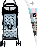 Universal Luxury Foam Cover Liner for Stroller Janebebé (Raccoon)