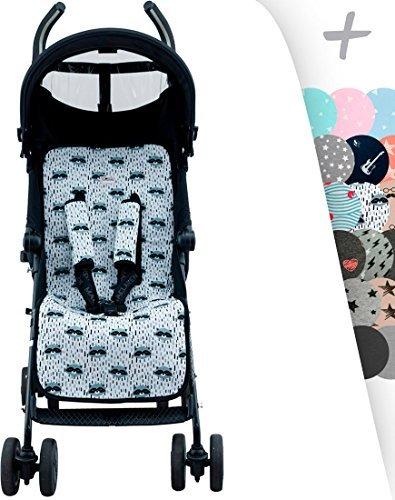 Universal Luxury Foam Cover Liner for Stroller Janebebé (Raccoon) by JANABEBE