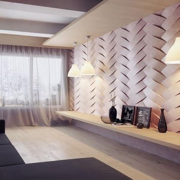 Set2 Binding Plastic Molds for 3 D Panels Plaster wall stone Form 3D decor panel