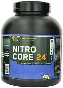 Optimum Nutrition Nitrocore 24, Ultimate Chocolate, 6 Pound