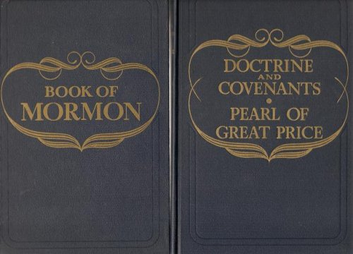 Book of Mormon / Doctrine and Covenants - Pearl of Great Price: Matched Set, 1957, 1959