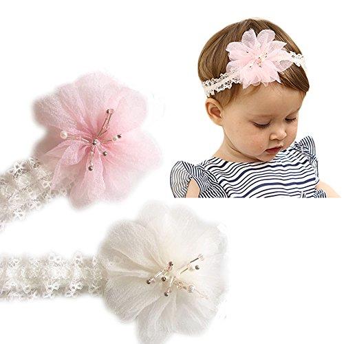 Pink Newborn Headband - 8