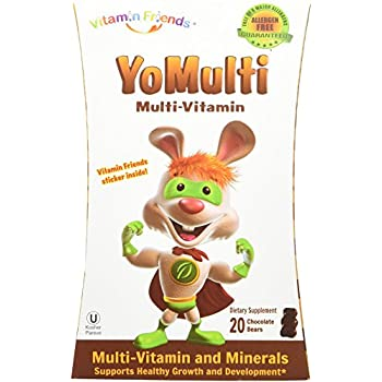 Amazon Com Vitamin Friends Yomulti Kids Multi Vitamin
