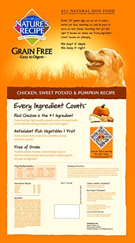 Natures-Recipe-Grain-Free-Easy-to-Digest-Dry-Dog-Food-Chicken-Sweet-Potato-Pumpkin-Recipe-24-Pound