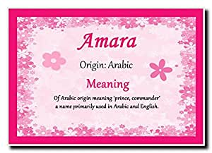 Amazon amara personalized name meaning jumbo magnet office share facebook twitter pinterest stopboris Gallery