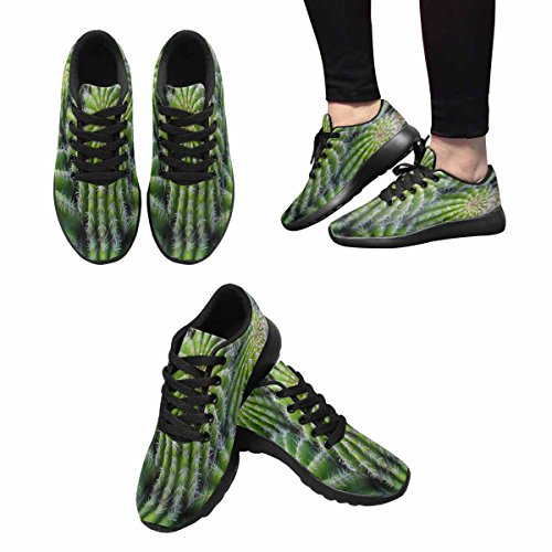 Scarpe Da Corsa Trail Running Da Donna Jogging Leggero Sportivo Da Passeggio Sneakers Da Atletica Cactus Pianta Multi 1