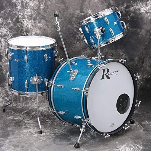 ROGERS / 1960S HOLYDAY 3PCsSET ドラムセット ケース付 ロジャース   B07NGGSQ2Y