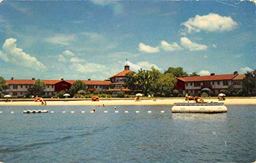Point Clear Alabama Grand Hotel Waterfront Vintage Postcard -