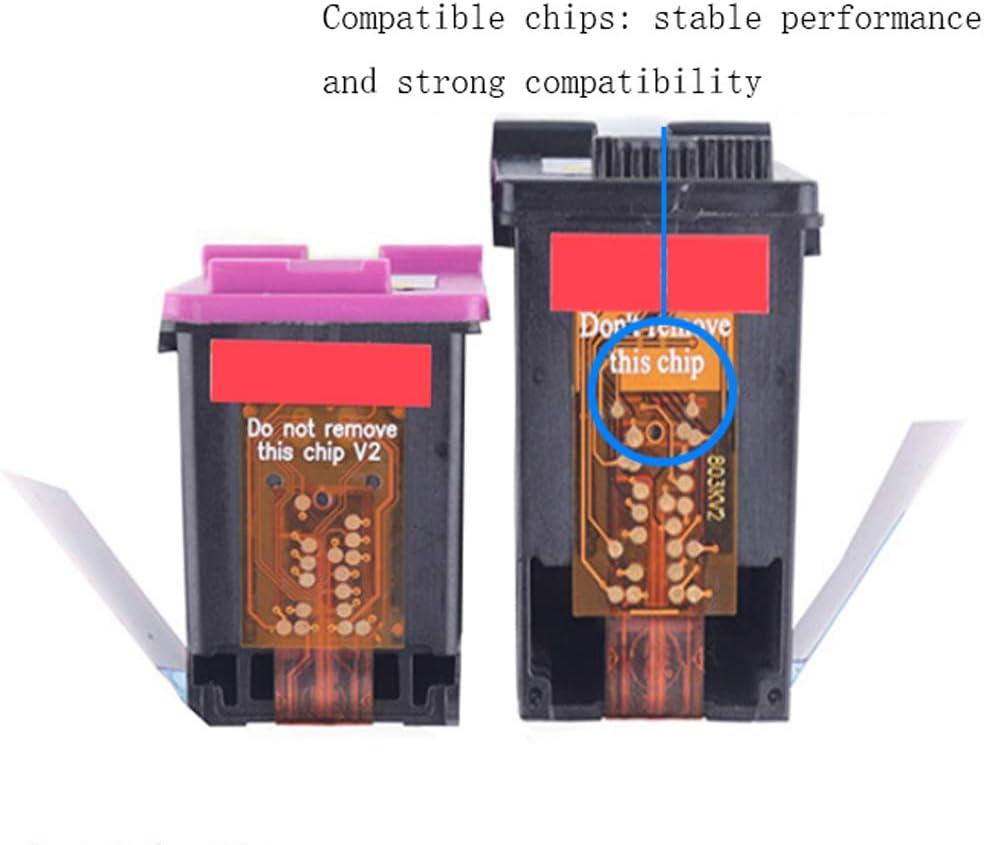 Color + Black 1 Pair Compatible with HP 46 Ink cartridges 2529 4729 2520hc 2020hc Printer DeskJet Ink Advantage 2029 Ink cartridges