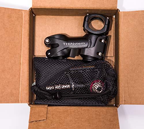 Flatten Your Bike Kit - Folding stem and pop-off Pedals