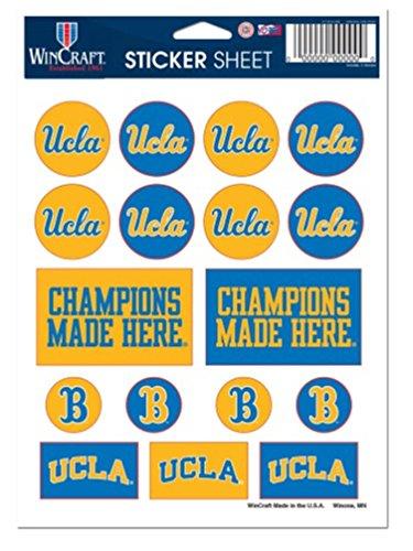WinCraft NCAA UCLA Bruins 5''x7'' inch Variety Sticker Sheet