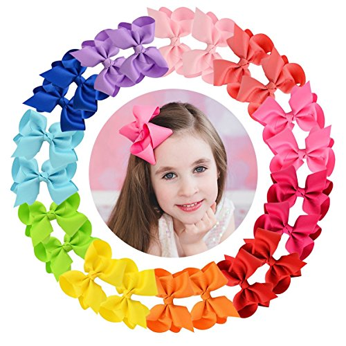 - Hair Bows Accessories Girls toddlers 4