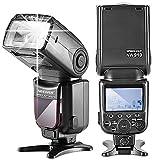(US) Neewer NW910/MK910 i-TTL 1/8000s HSS LCD Display Speedlite Master/Slave Flash for Nikon D60 D70 D70S D80 D80S D300S D700 D3000 D3100 D5000 D5100 D7000 D7100 D7200 and Other Nikon DSLR Cameras
