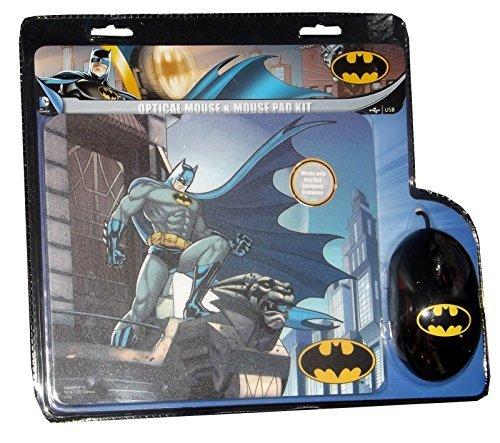 DC Comics Batman Optical Mouse & Mouse Pad Combo ()