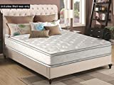 What Is the Best Mattress for Back Pain Greaton, 12-inch Medium Plush Innerspring Pillowtop Double Sided Mattress, No Assembly Required, Queen Size
