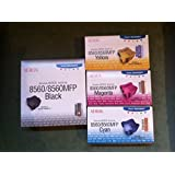 Genuine Xerox Phaser 8560/8560mfp Solid Ink 4 Color Set 6 Black, 3 Yellow, 3 Cyan, and 3 Magenta 108R00723, 108R00724, 108R00725, 108R00727