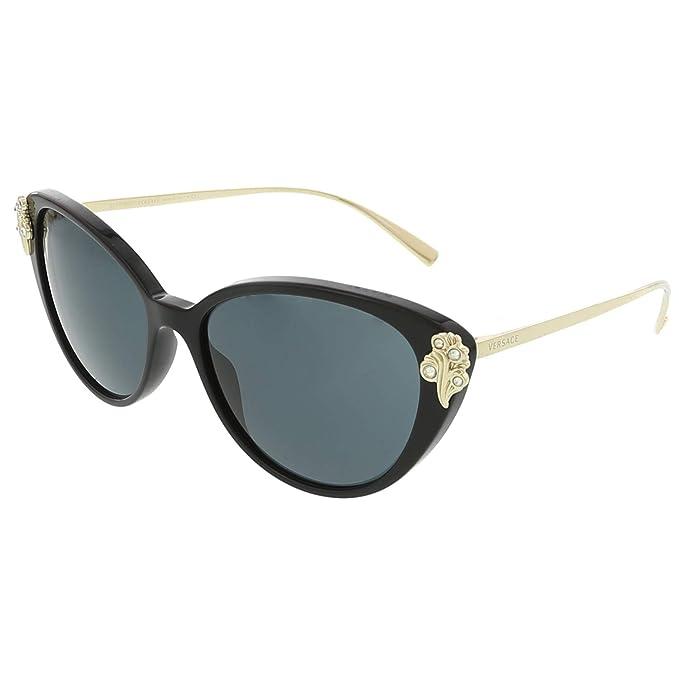 Amazon.com: Versace ve4351b anteojos de sol GB1/87 – 55 ...