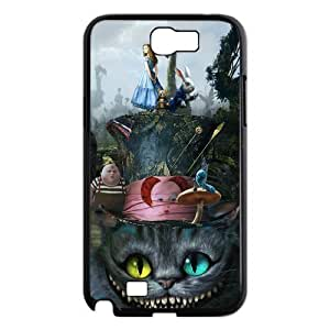 Alice in Wonderland We're all mad here Cheshire Cat Together Unique For Case Samsung Note 3 Cover Durable Hard Plastic Personalized Treasure DIY