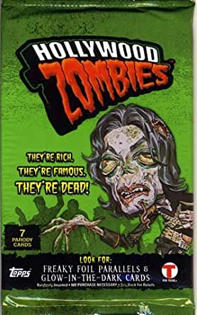 Topps Hollywood Zombies Sealed Pack Trading Cards