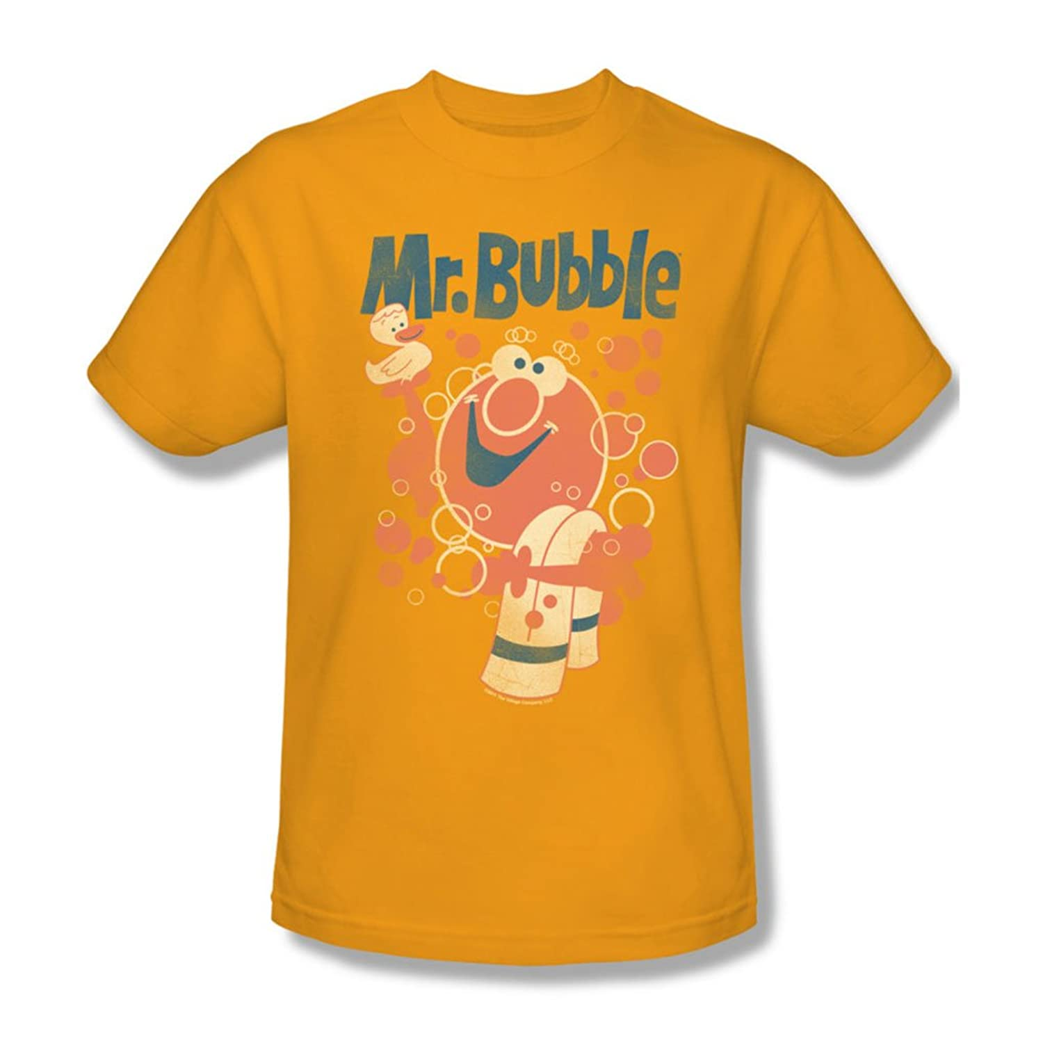 Mr Bubble - Mens Towel And Duckie T-Shirt