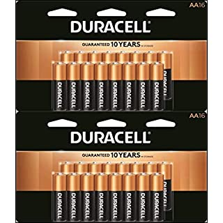 CopperTop AA Alkaline Batteries - Long Lasting, All-Purpose Double A Battery for Household and Business - 16 Count (2 Pack)