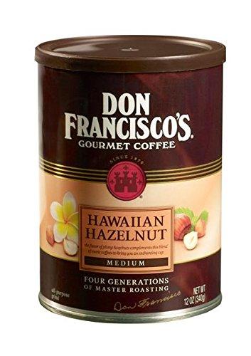 Top hazelnut powder coffee bean