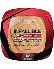L'Oreal Paris Infallible 24H Fresh Wear In A Powder Foundation, Waterproof Matte Finish