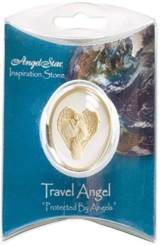 Angelstar 1-1/2-Inch Angel Worry Stone, Travel Angel (Star Pendant Angelic)