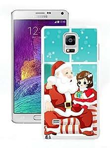 Hot Sell Design Santa Claus White Samsung Galaxy Note 4 Case 25