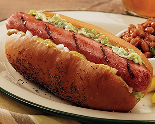 Kansas City Steaks 16 (3.2oz.) All-beef Jumbo Hot (Beef Hot Dog)