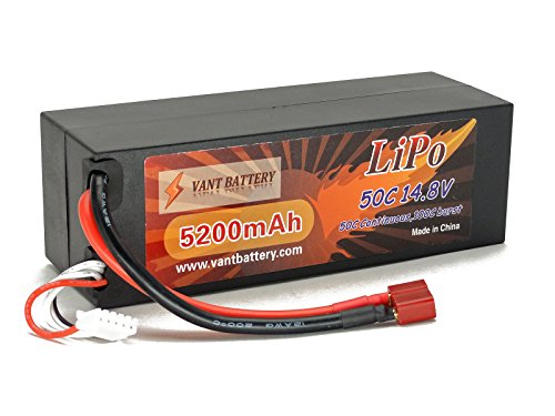 148V-5200mAh-4S-Cell-50C-100C-HardCase-LiPo-Battery-Pack-w-Deans-Ultra-Plug-Style-Connector