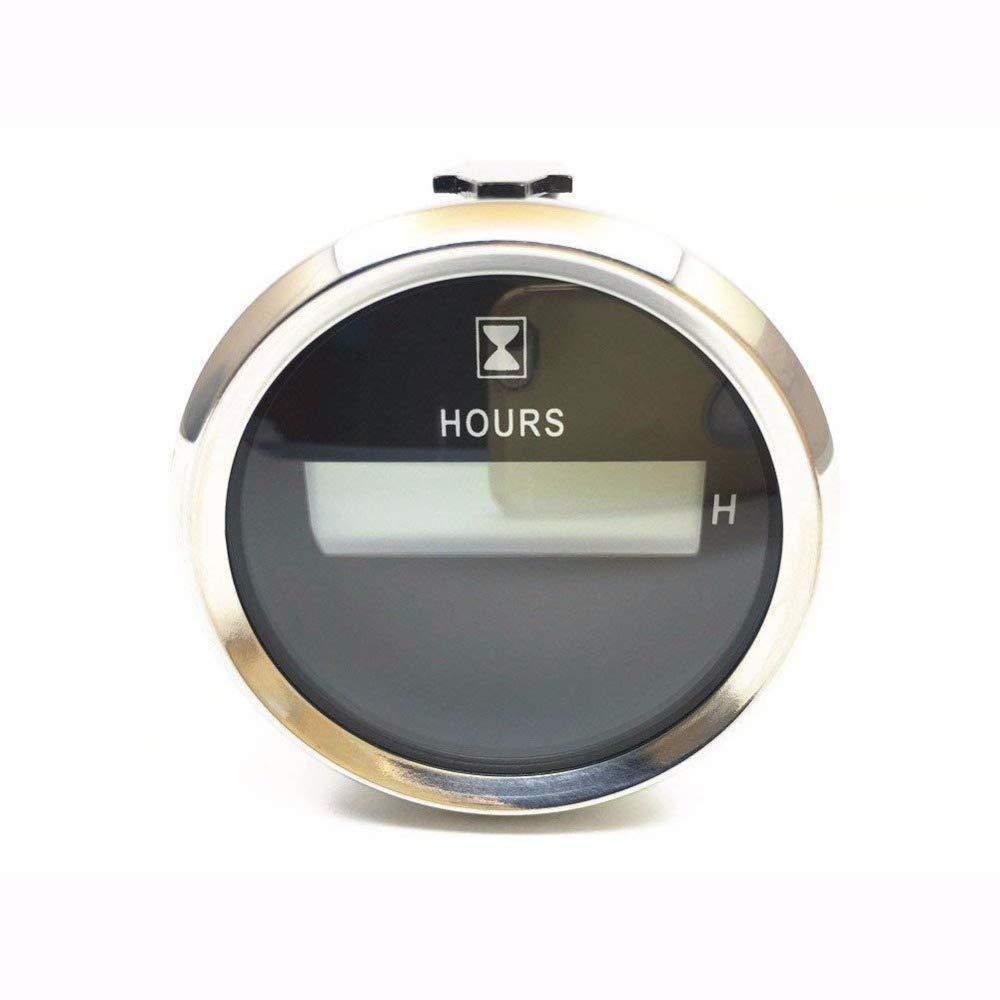 ELING Digital Hour Meter Gauge 52mm(2') Backlight 12V/24V