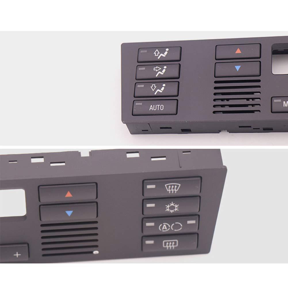 noir Panneau de contr/ôle de climatisation de rechange pour BMW X5 E53 2000-2007// BMW S/érie 5 E39 1995-2003