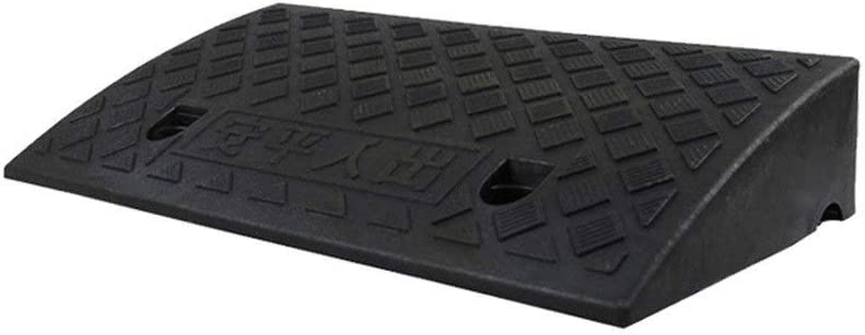 11 way bike CSQ-Ramps Step Pad at The Door, Home Indoor Threshold Ramps for Wheelchairs Baby Carriage Scooter Service Ramps Kerb Ramps (Color : Black, Size : 5CM)