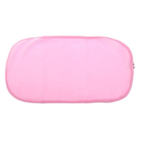 Microfibra Facial Maquillaje Removedor De Limpieza Paño Toallita Toallas De Color Rosa